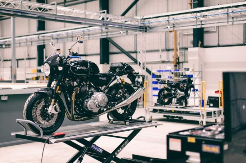 Norton Motorcycles' new facility is almost ready to open
